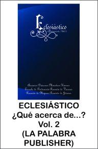Eclesiástico INICIO